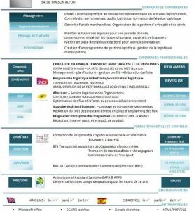 CV Attestataire Capacite