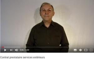 prestataire services extérieurs