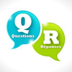 Questions Réponses Gestionnaire Transport