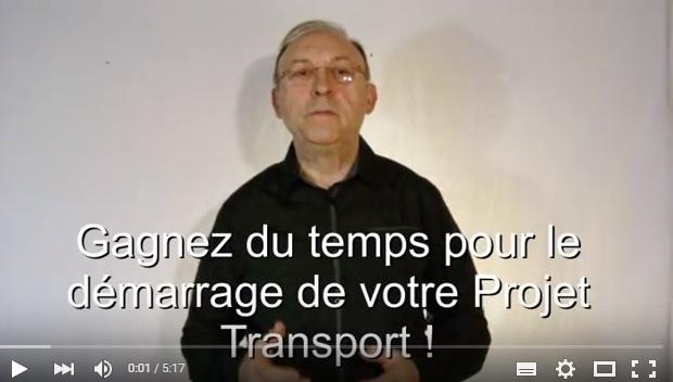 Videos gestionnaire transport, création société transport